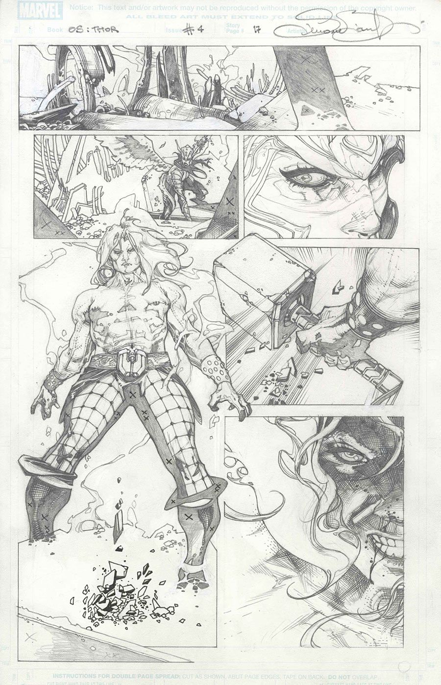 "Images for : Bianchi Goes Behind-the-Scenes with ""Thor & Loki"" - Comic Book Resources"