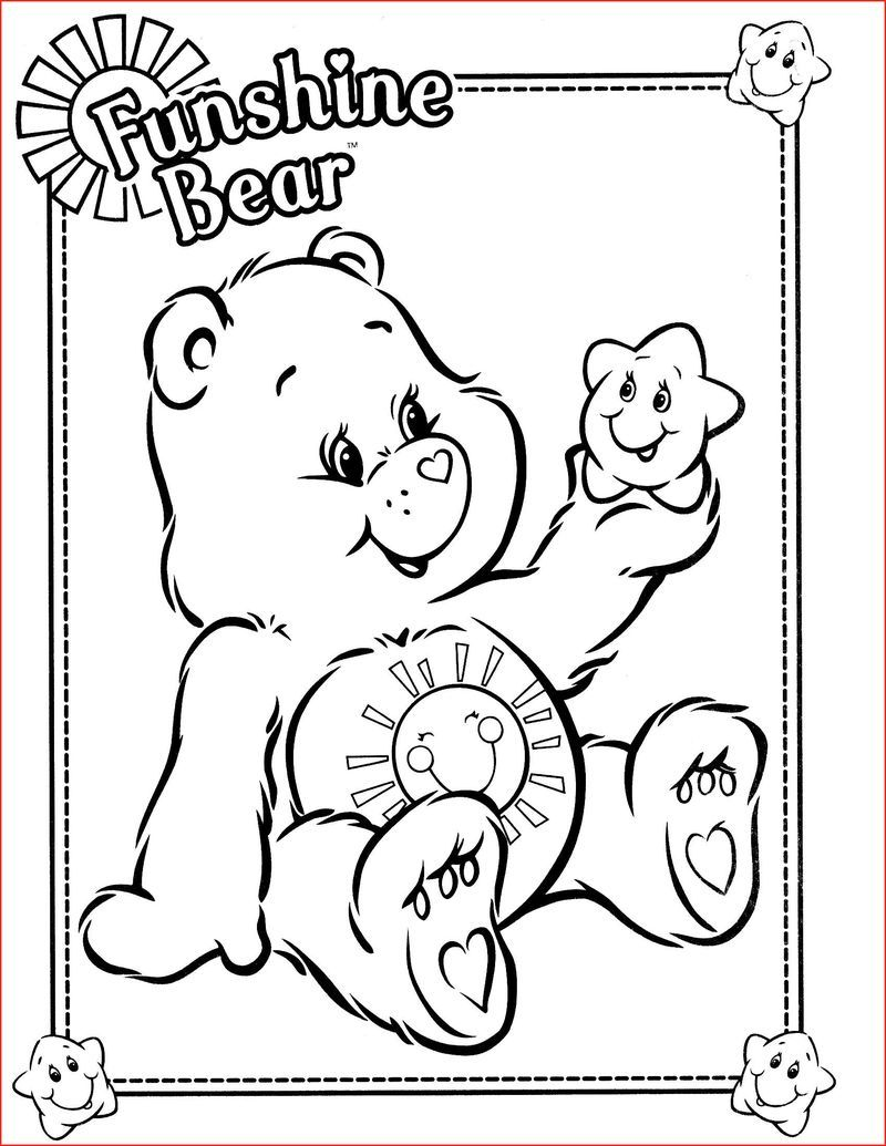 Printable Care Bear Coloring Pages For Your Kids Free Coloring Sheets Bear Coloring Pages Teddy Bear Coloring Pages Disney Coloring Pages
