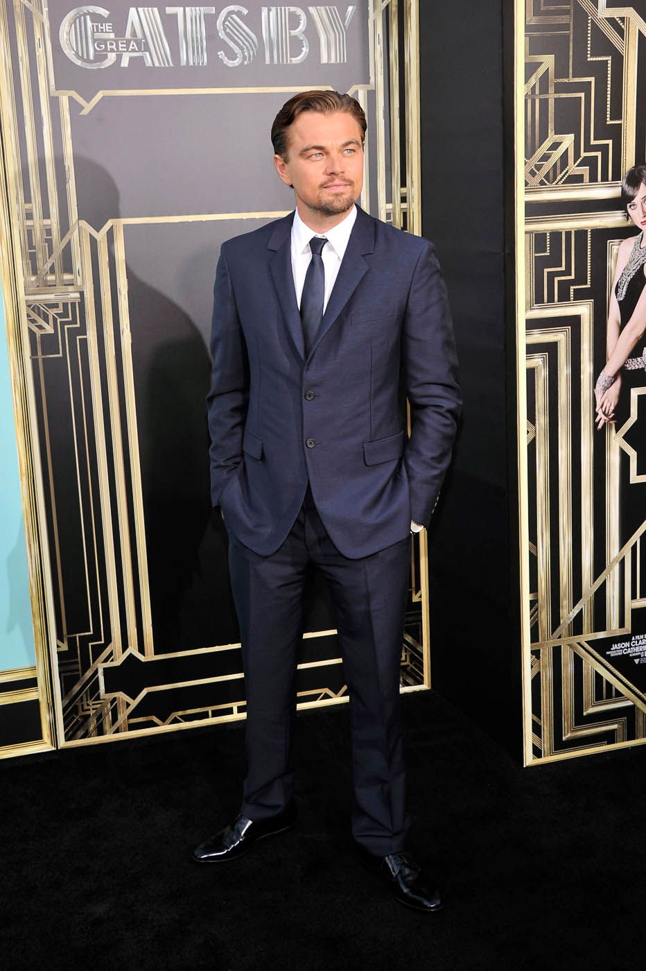 """Great Gatsby"" actor Leonardo DiCaprio looks dashing on ..."