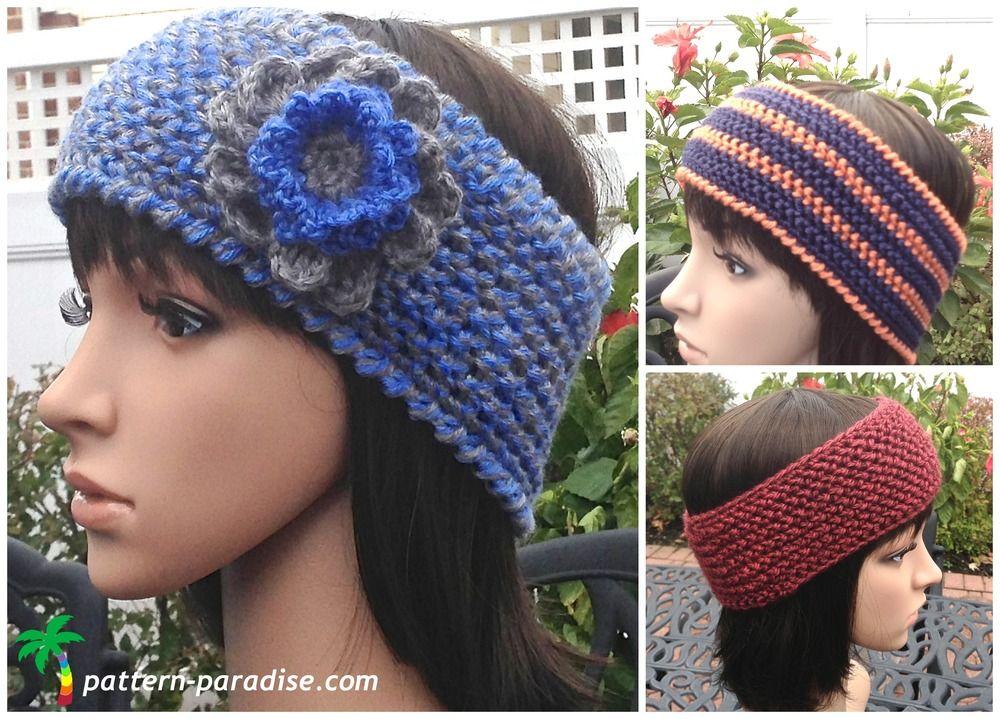 Wildly Warm Crochet Headband | Banda, Movimientos y Creatividad