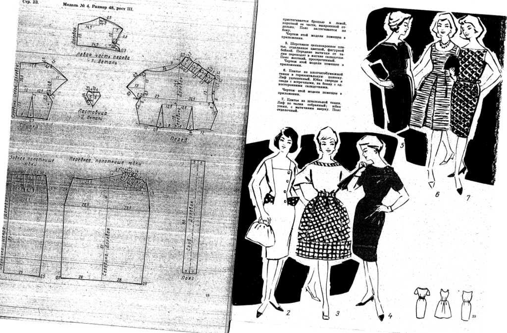 DIY Vintage 50s Dress - FREE Sewing Pattern Draft | Sew Crazy ...