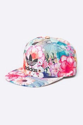 Adidas Originals Czapka Z Daszkiem W Kwiaty Confete Fashyou Pl Adidas Originals Superstar Baseball Hats Hats