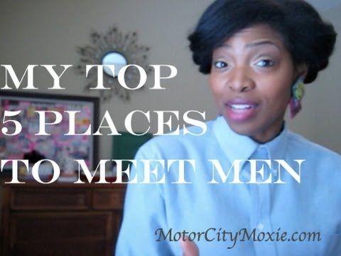 5 best places meet men