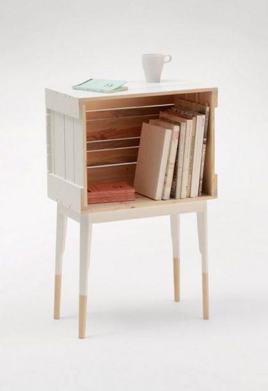 Möbel Aus Alten Holzpaletten Und Obstkisten: Schon Fertig Zu Kaufen:  Holzkiste Auf Stelzen Von La Clinica
