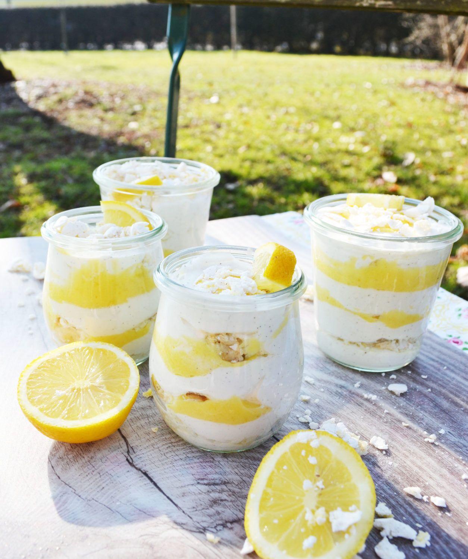 Photo of Zitronig, frisches, Löffelerlebnis! Lemon Curd – Joghurt – Creme