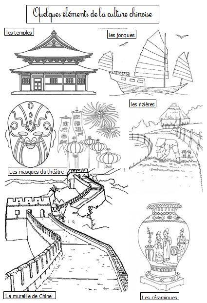 Coloriage Chine Cp.Dossier Nouvel An Chinois Blog Gs Cp Ce1 Ce2 De Monsieur Mathieu