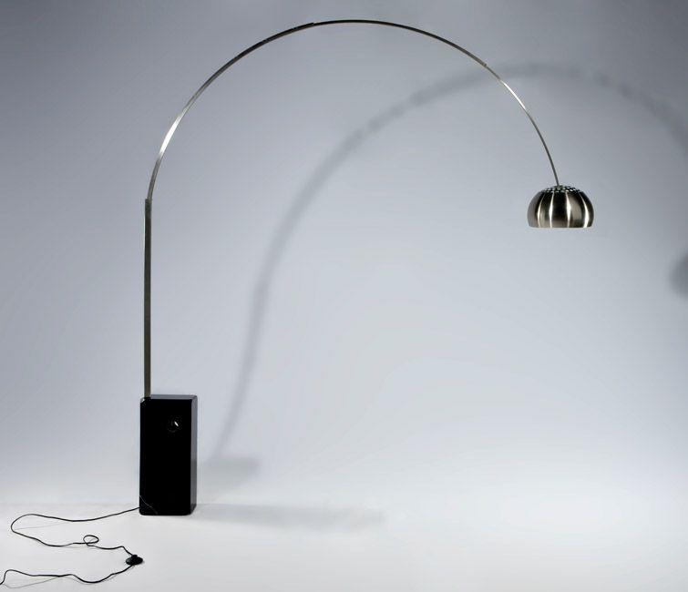 Castiglioni S Floor Light 163 437 From Designers Revolt