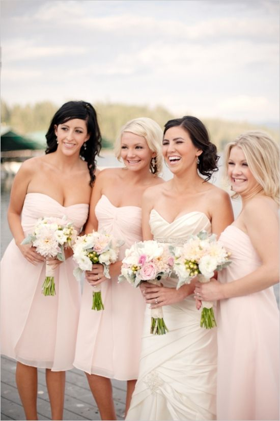 1000  images about bridesmaid dresses on Pinterest  Bouquets ...
