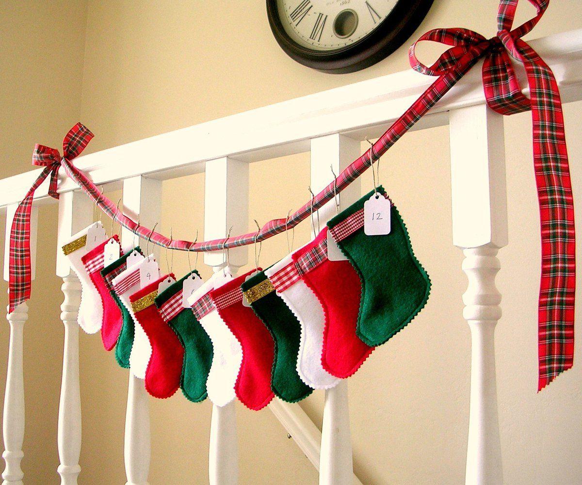 Adornos navide os en fieltro botas navidad de fieltro - Adornos con fieltro ...