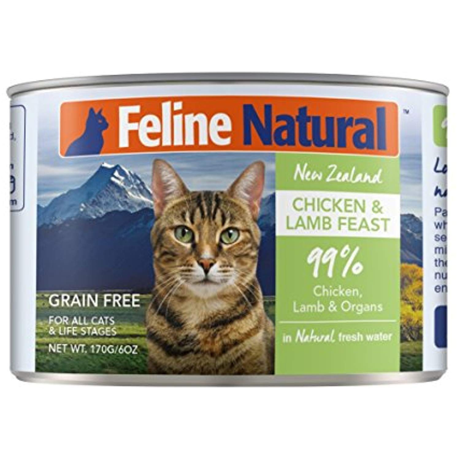 Canned Cat Food By Feline Natural Perfect Grain Free Healthy Hypoallergenic Limited Ingredients Bpa Free Wet C Canned Cat Food Wet Cat Food Best Cat Food