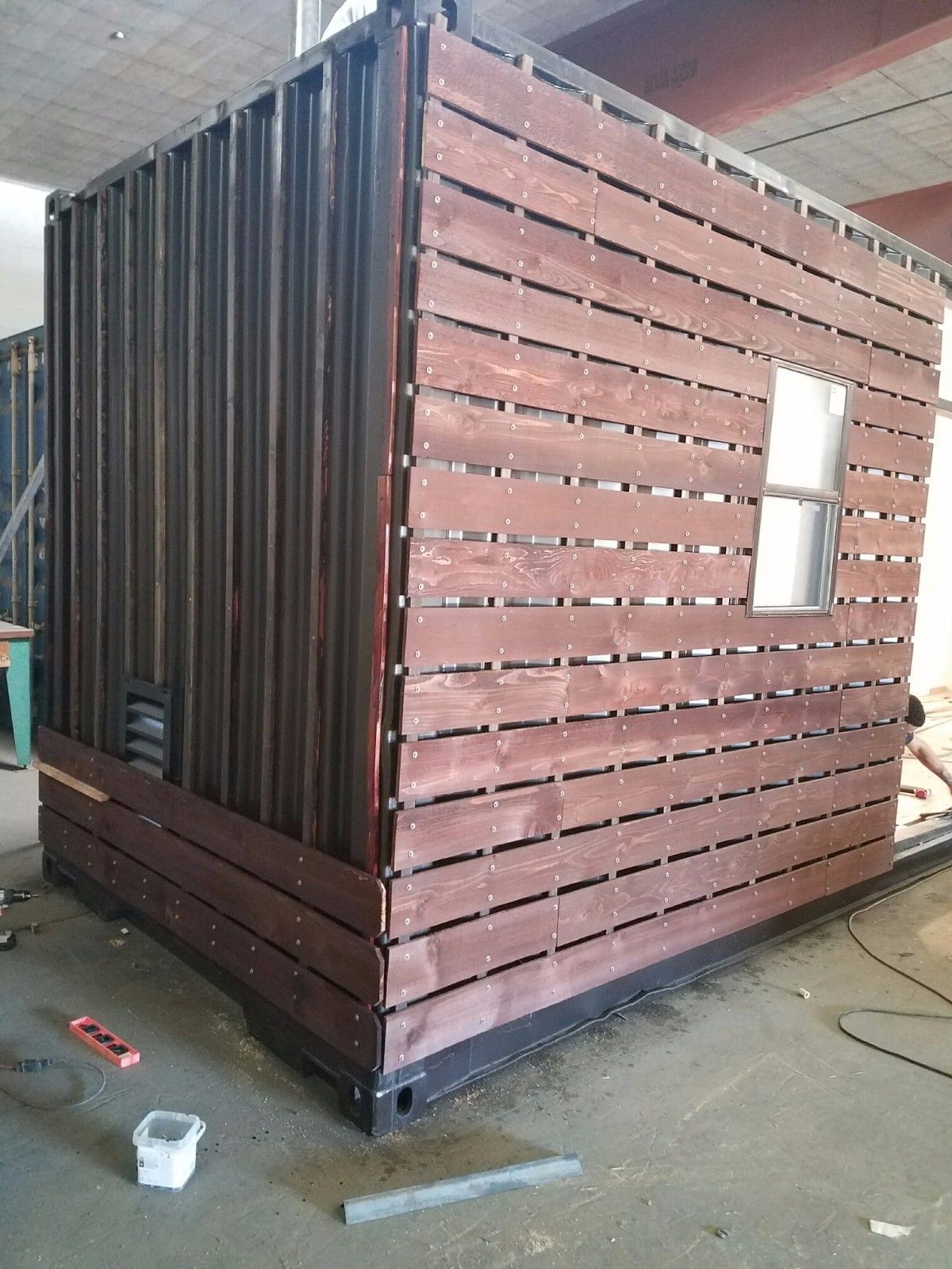 40 Foot High Cube Hurricane Resistance Hybrid Ebay Container House Container Shipping Container Homes