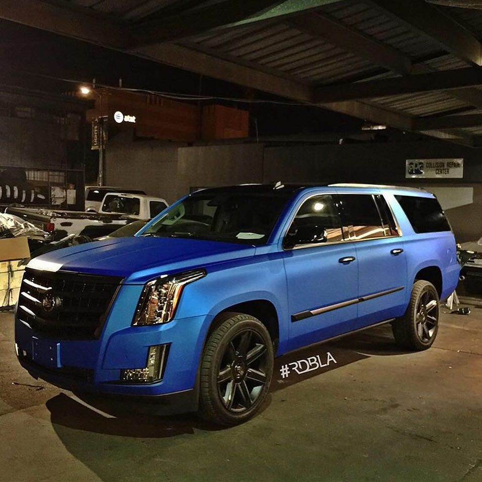"Buy Used Cadillac Escalade: @RDBLA_OFFICIAL On Instagram: ""Custom Wrapped Escalade. #RDBLA #wraps #autowraps @rdbla_wraps"