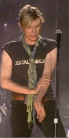 David Bowie 2004 : david, bowie, Bowie, 2003/4, Reality), Ideas, Bowie,, David, Starman