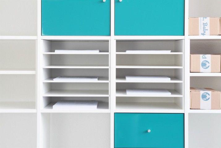 Regal ikea expedit  Ein Postfach macht dein Ikea Kallax zu einem Plattenregal | Wand ...