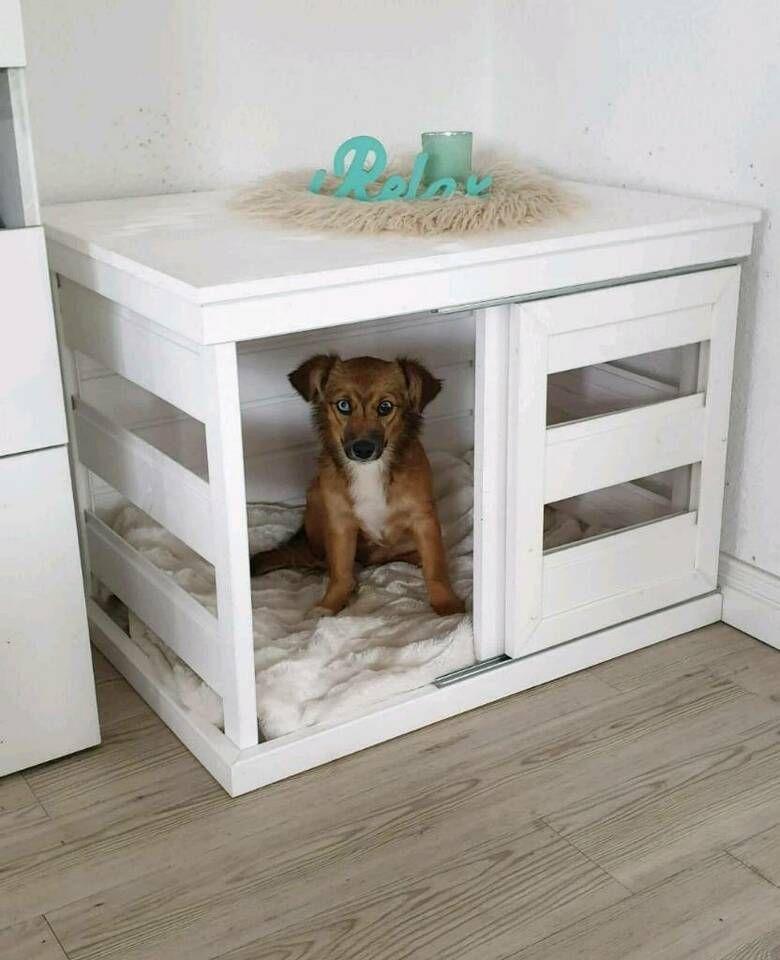 Hundebox Kennel Holzbox Shabby Landhaus Weiss In Schleswig Holstein