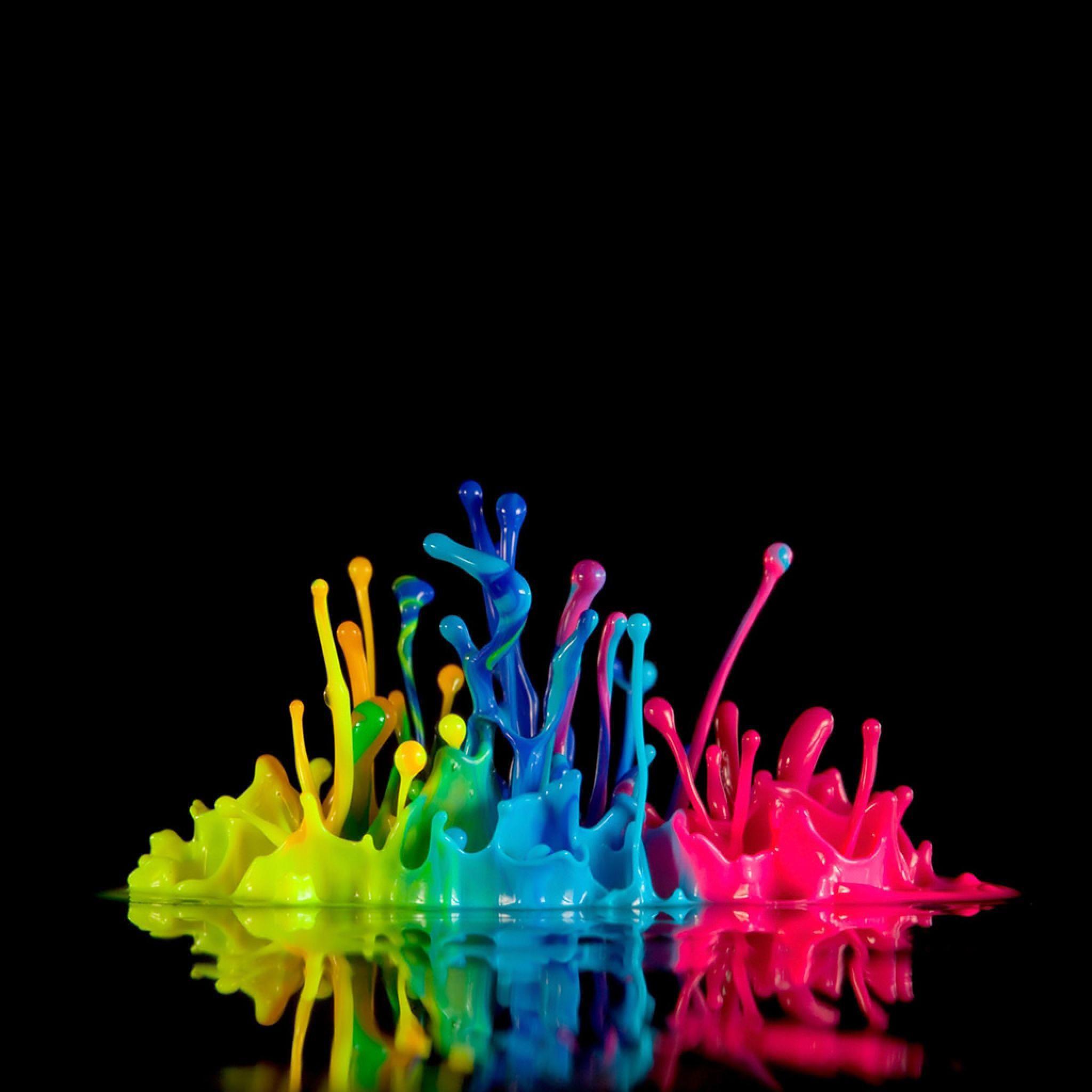 splashes of color | Miscellaneous Cool Fluorescent Paint Color ...