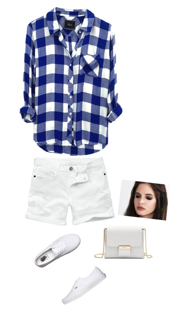 """""""simple plaid"""" by sierra-light ❤ liked on Polyvore featuring Rails, Fat Face, Vans, Gérard Darel, women's clothing, women, female, woman, misses and juniors"""