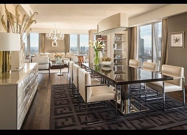 Fendi Design Home That Rug Is Amazing I Want One Luxury Dining Room Luxury Dining Home