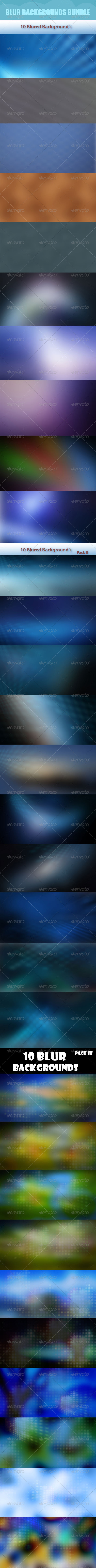 Blur Backgrounds Bundle