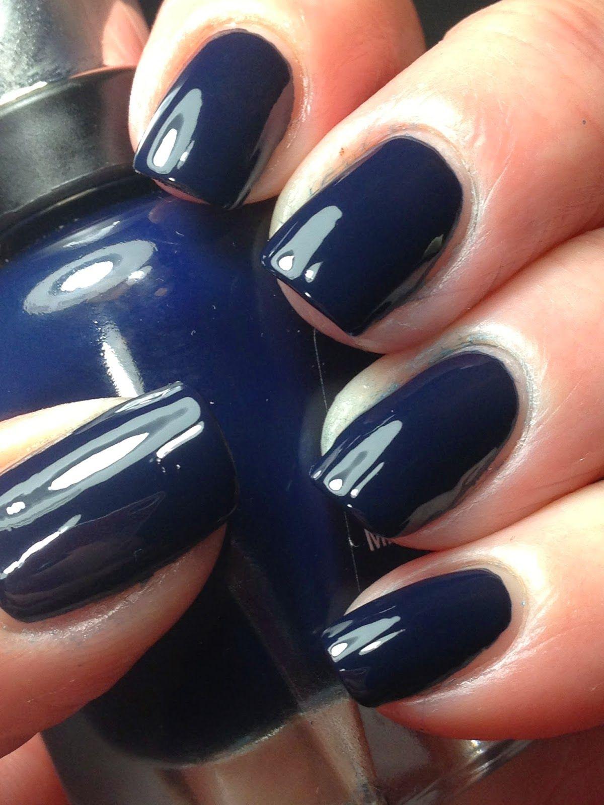 Sally Hansen Complete Salon Manicure Quot Dark Huemoor Quot My Nail Polish Addiction Dark Nails