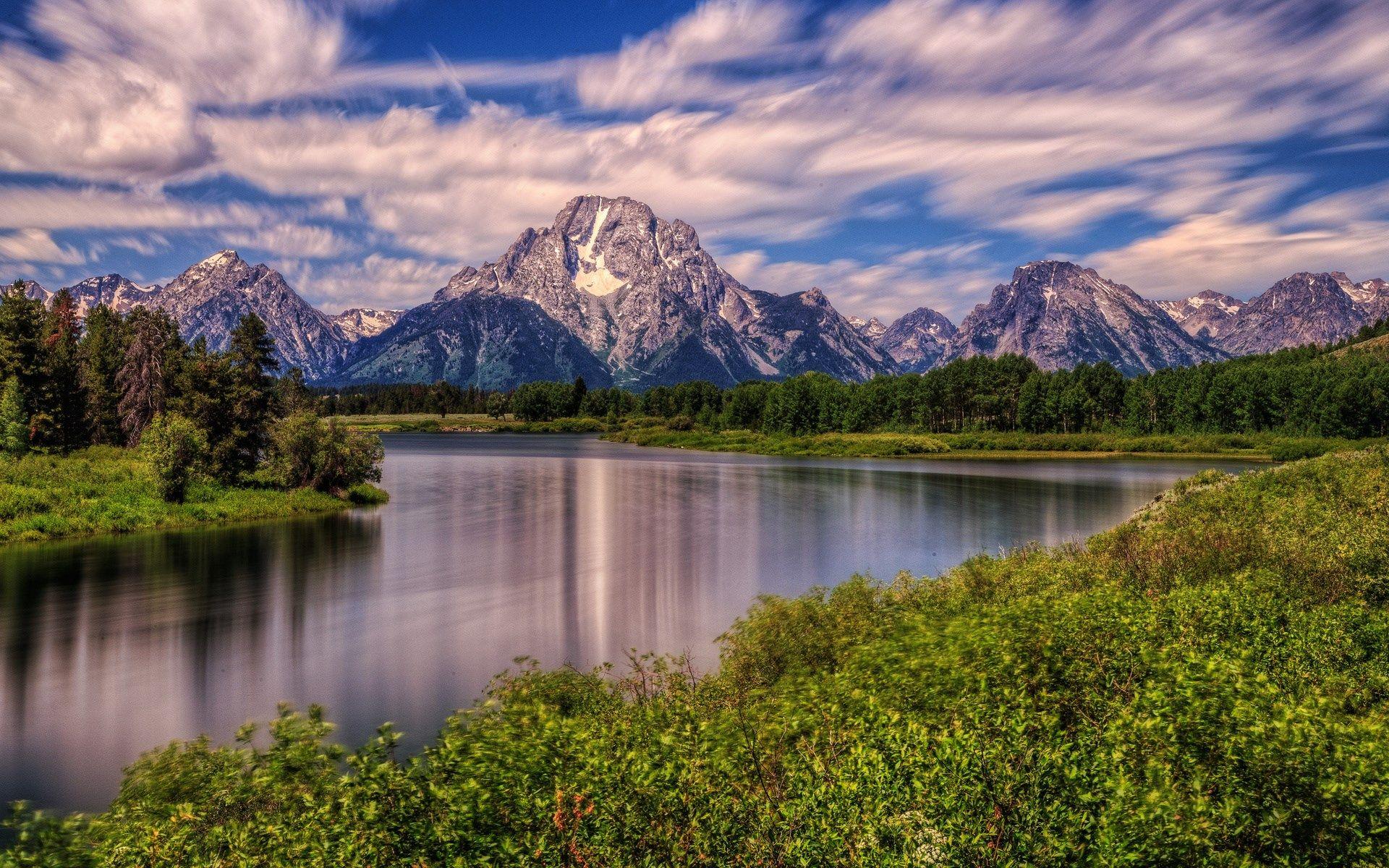 Hd Wallpaper Of Natures 1920x1200 Grand Tetons Grand Teton National Park National Parks Wyoming