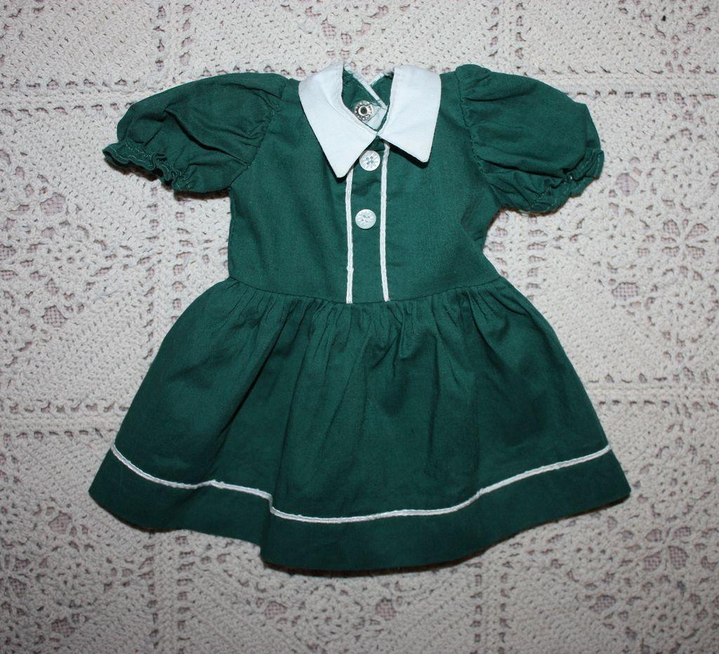 Dress for Hard Plastic Dolls 1950s | Vintage Doll Clothes | Pinterest