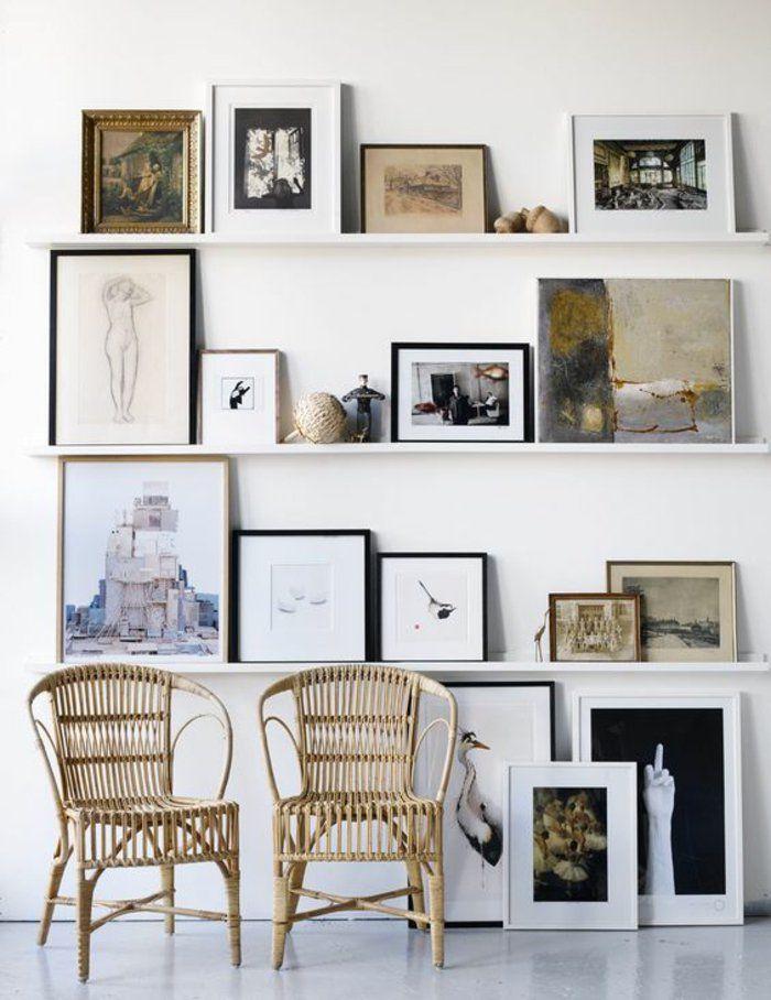 1001 ideen f r bilderleiste dekorieren f r fr hliches ambiente the home pinterest gallery - Bilderleiste dekorieren ...