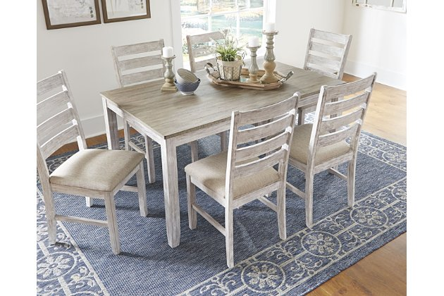 Skempton Dining Room Table And Chairs Set Of 7 Brown Dining