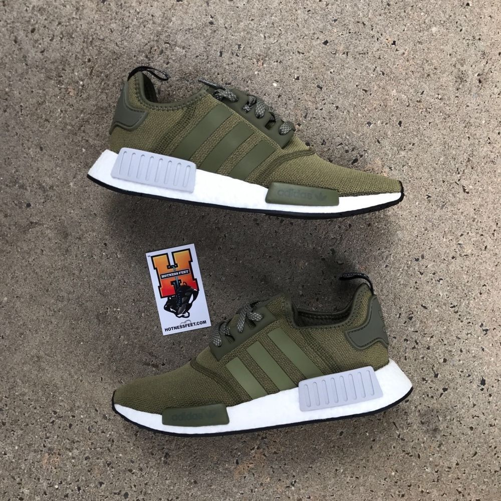 bab040aaa Adidas Originals NMD Boost R1 Olive Green BB2790 New Men US SIZE  8-13   Adidas  AthleticSneakers