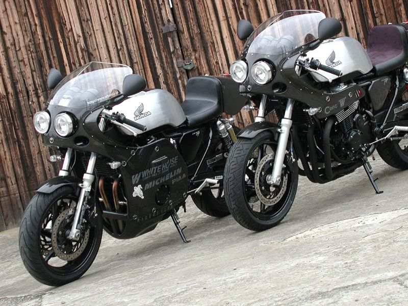 Whitehouse Customs Mad Max Inspired CB 750 Hondas