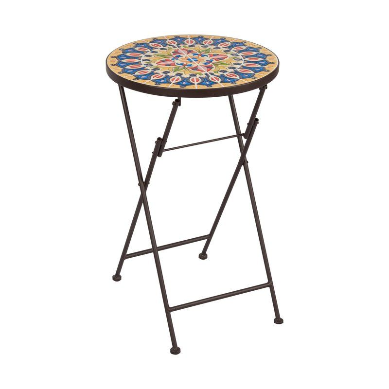 Rotherham Folding Side Table Side Table Metal Side Table Outdoor Side Table