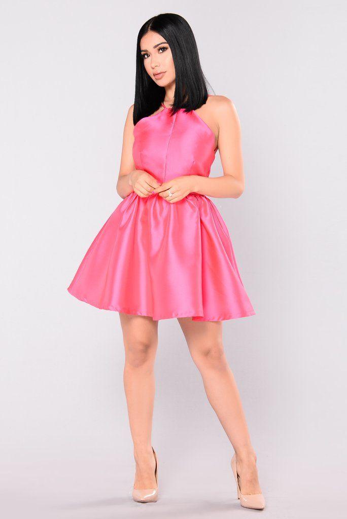 Buttercup Satin Dress - Pink | Muerte, Propios y Belleza