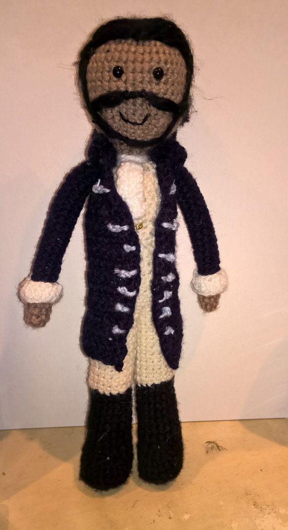 Marquis de Lafayette by CrochetbyNecessity on Etsy