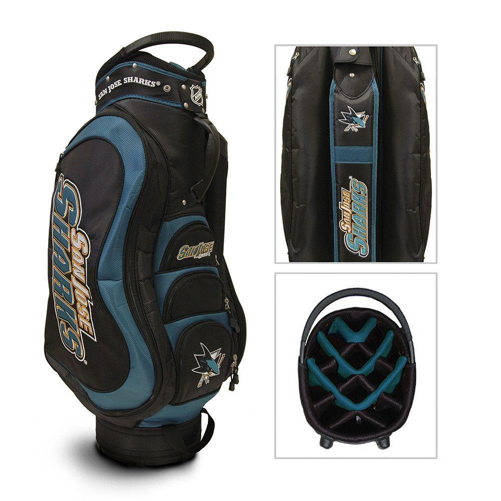 San Jose Sharks NHL Cart Bag 14 way Medalist Golf bags