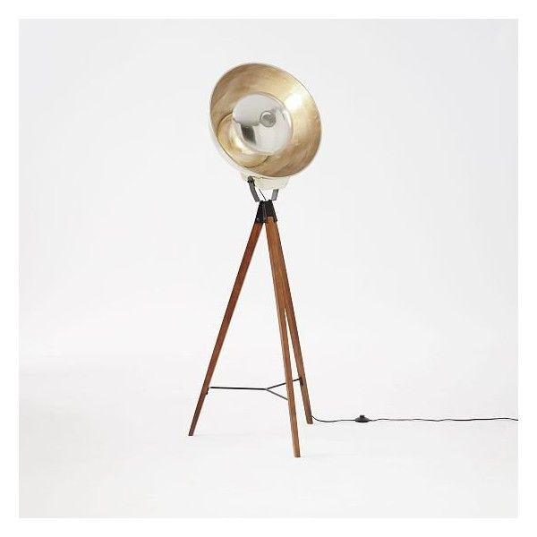 West elm west elm studio tripod floor lamp woodgold floor lamps west elm west elm studio tripod floor lamp woodgold floor lamps aloadofball Gallery