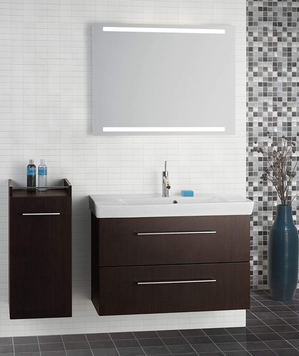 Badmöbel Anthrazit Gemasert Dansani Mido The Quick And Easy Choice Bathroom Products