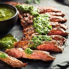 Entrecote met chimichurri - recept - okoko recepten   - lekker eten #vlees #recepten #meat