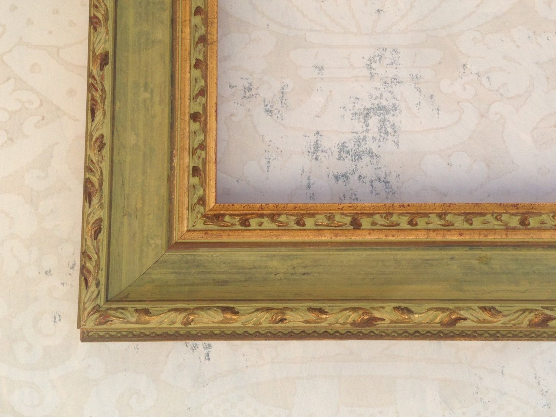 Shabby Chic Green Framed Antique Mirror 16x20, 20x20, 24x30, 24x24 ...