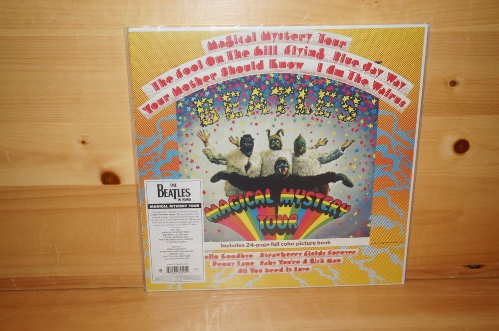 THE BEATLES Magical Mystery Tour Deluxe Mono Edition 180g