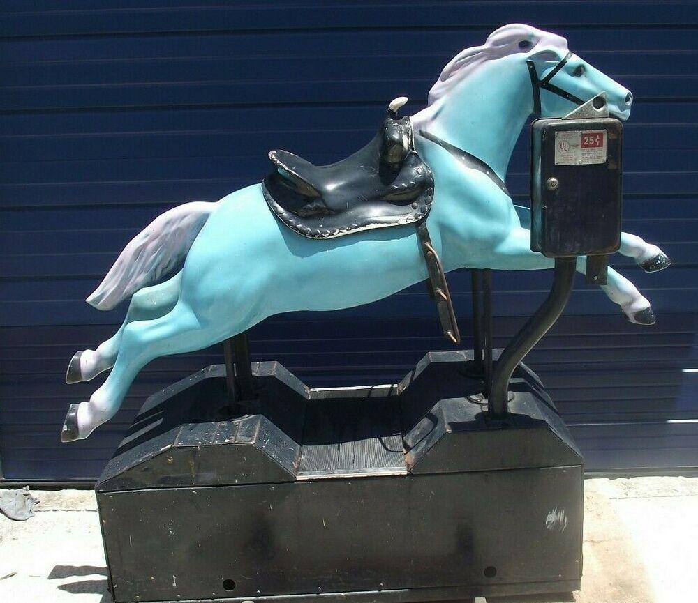 eBay #Sponsored Utec Model 600 Coin Operated Horse Large 57