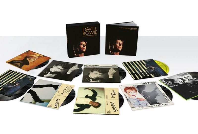 A New David Bowie 13xlp Vinyl Box Set Has Been Announced David Bowie Vinyl Record Box Boxset