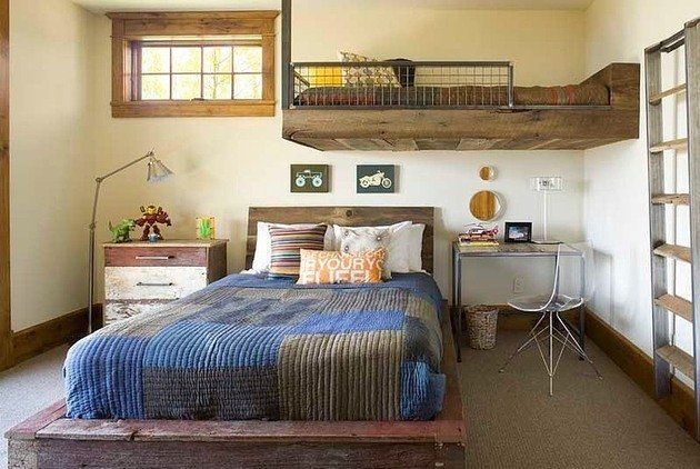 10 Stunning Rustic Kids Rooms Ideas photos4561