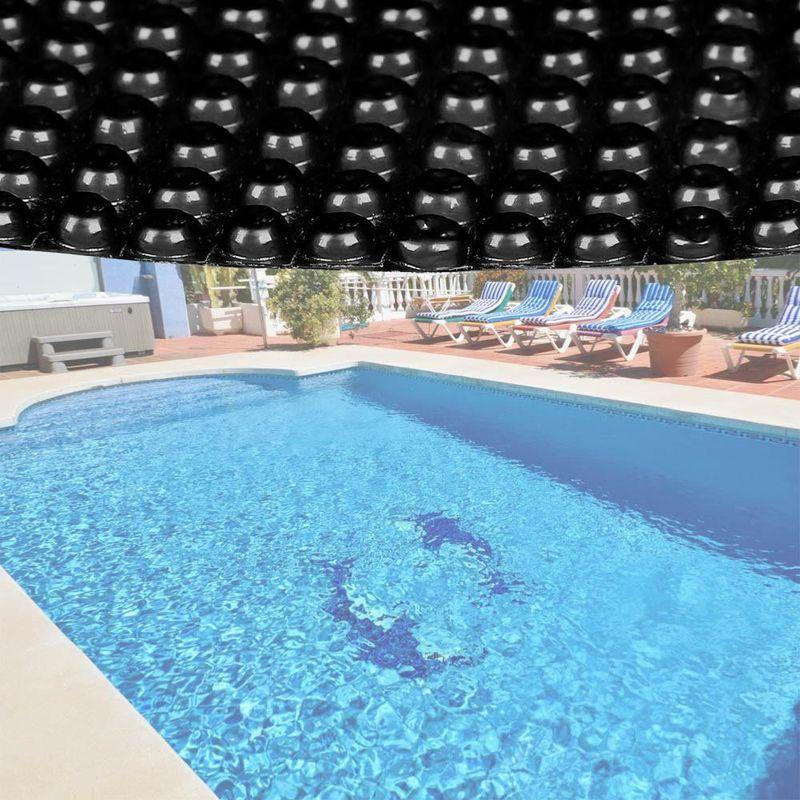 Bache De Piscine Round Pool Outdoor Bubbles