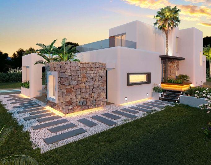 style new build villa for sale Javea Ref C817