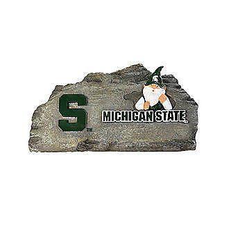 NCAA Michigan State Spartans Gnome Garden Stone  www.mancavesonline.com