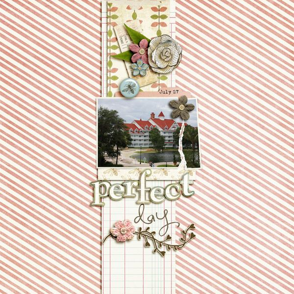 Perfect Day Mousescrappers Disney Scrapbooking Gallery Love
