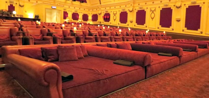 Movie Theatre Comes Equipped With Beds And Cashmere Blankets