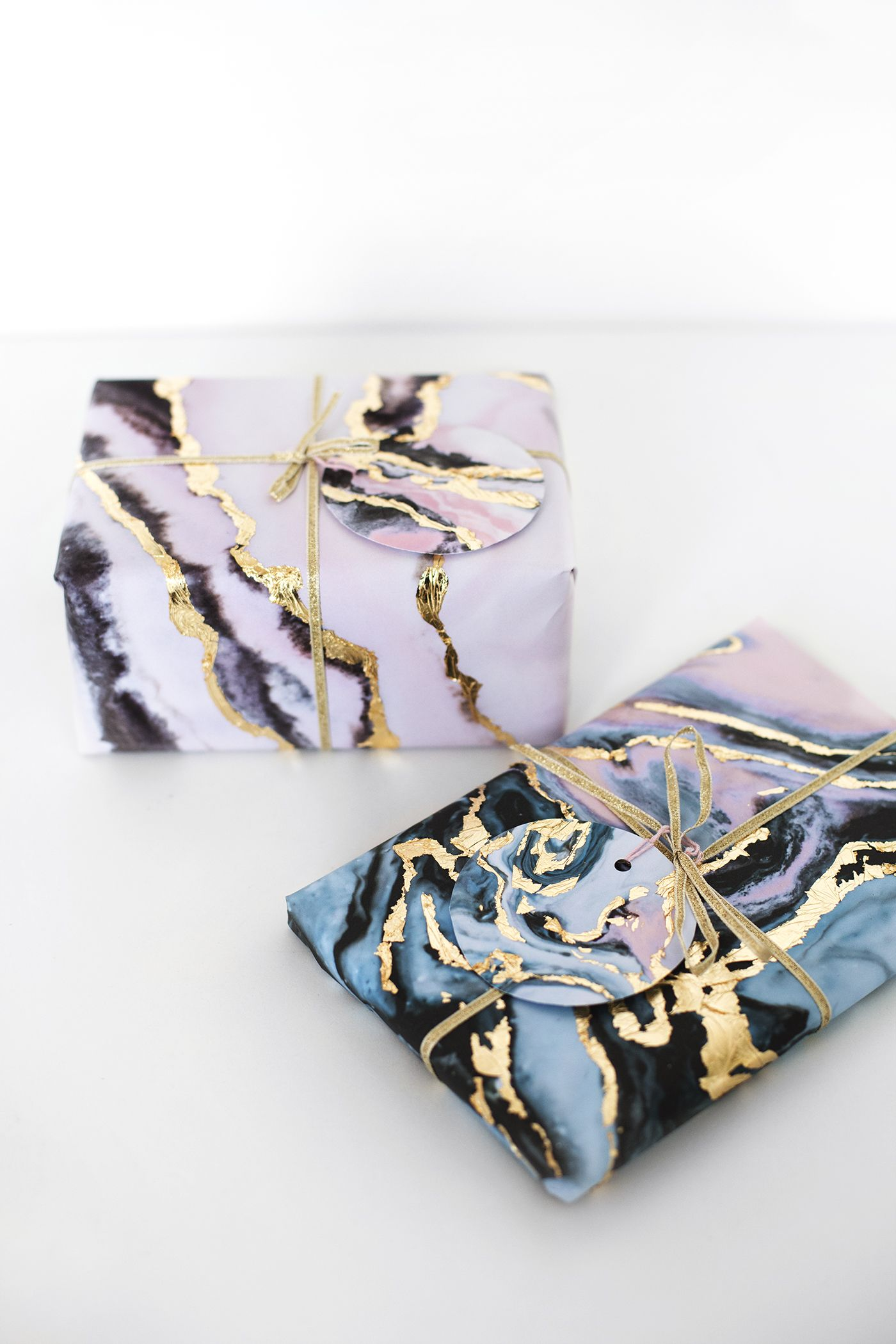 Create your own gold leaf marble gift wrap using this free create your own gold leaf marble gift wrap using this free printable and gold leaf negle Choice Image