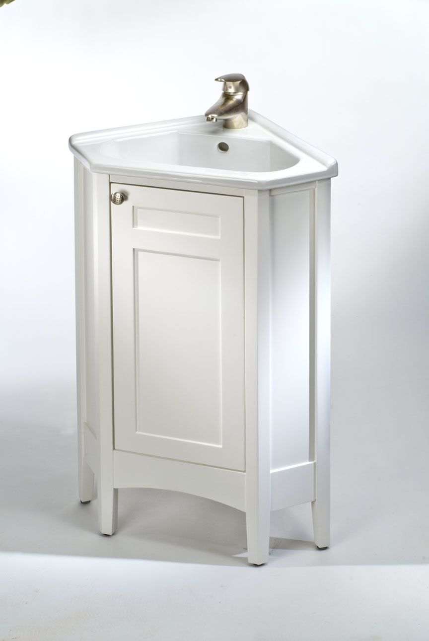 Bathroom Amazing Bathroom Decoration With White Wood Single Corner Bathroom Vanity Along With White B Corner Bathroom Vanity Corner Vanity Corner Sink Bathroom