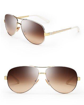 c6baa72119dc2 Tory Burch Aviator Sunglasses